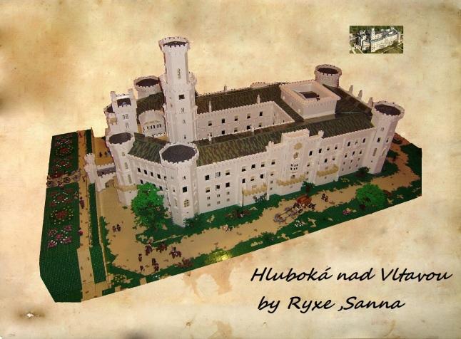 Czech Hluboká Castle