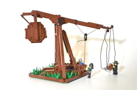 LEGO Functional Trebuchet