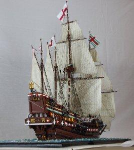 """English Warship """"Revenge"""""""