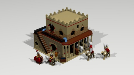 Lego Stable from AoE2.