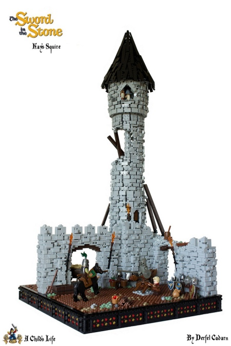 The sword in the stone - Merlin's tower