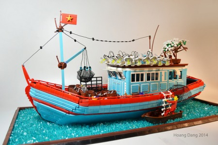 Vietnamese Fishing Boat