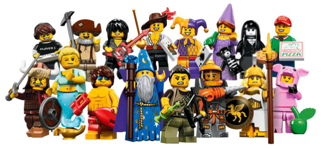 collection series minifigs 12