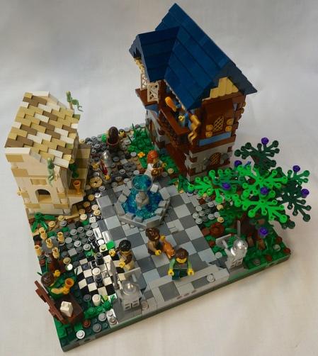 Modular Castle Town Square