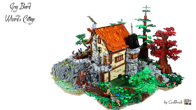 Grey Beard Wizard Cottage