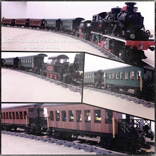 LEGO Douro historic train